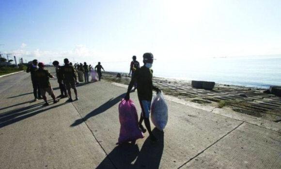 セブの海岸清掃について